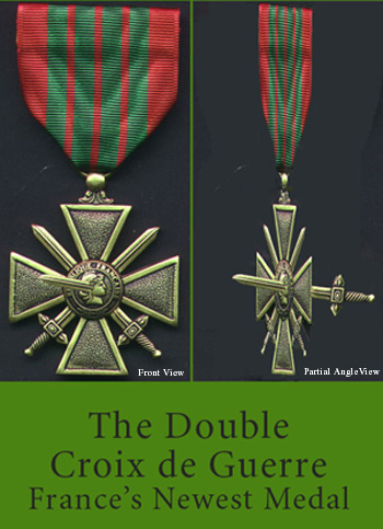 Picture of Double Croix de le Guerre